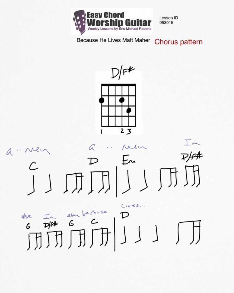 chorus pattern