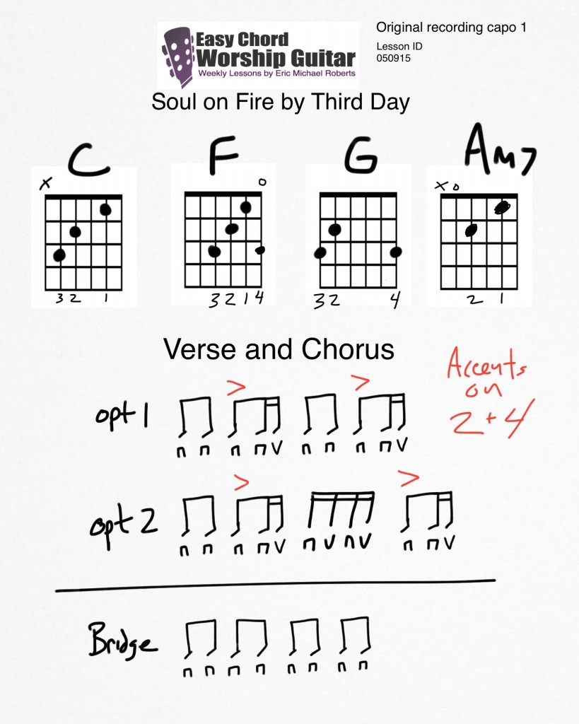 Soul on Fire by Third Day Lesson ID 050915